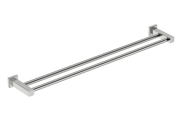 Double Towel Rail 32inch - Polished Stainless Steel - Bathroom Butler bathroom accessories