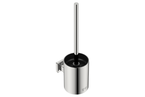 Toilet Brush + Holder 8638 - Polished Stainless Steel - Bathroom Butler bathroom accessories