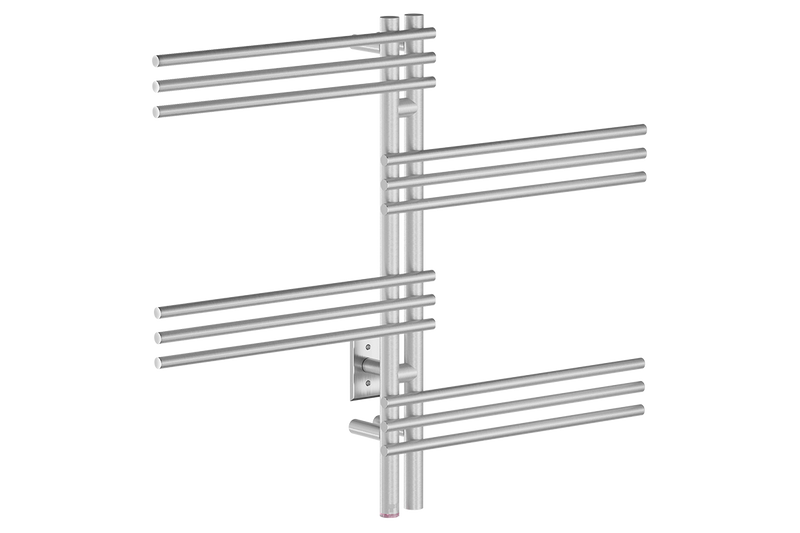 "Loft Duo 12 Bar 39"" Heated Towel Warmer with PTSelect -120V - Bathroom Butler bathroom accessories and heated towel rails"