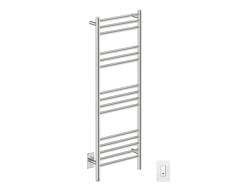 "Natural 15 Bar 17"" Heated Towel Warmer with Wi-Fi enabled Switch -120V - Bathroom Butler bathroom accessories and heated towel rails"