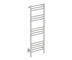"Natural 15 Bar 17"" Heated Towel Warmer with PTSelect -120V - Bathroom Butler bathroom accessories and heated towel rails"