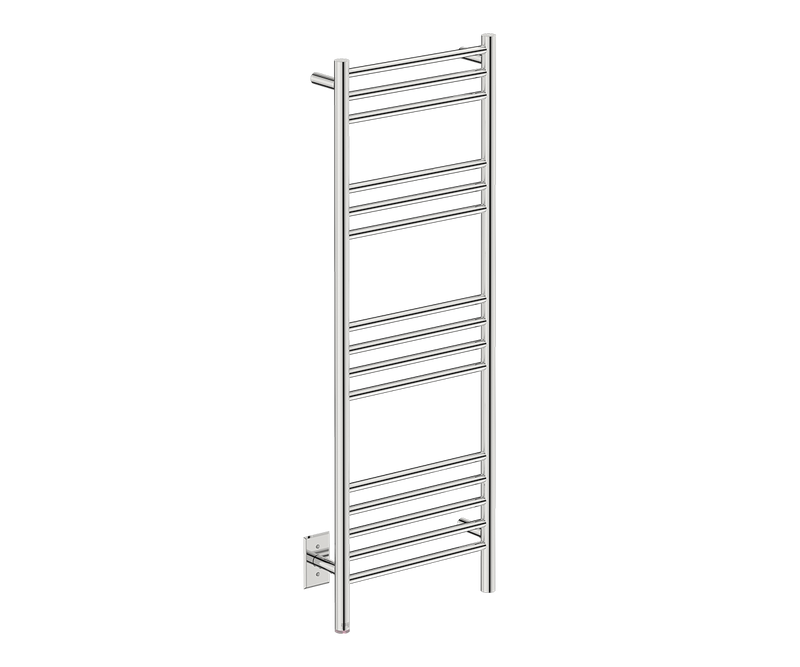 "Natural 15 Bar 17"" Heated Towel Rack with PTSelect -120V - Bathroom Butler bathroom accessories and heated towel rails"