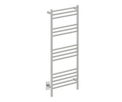 Bathroom Butler NATURAL 15 Bar heated towel rack with temperature adjustment in Polished Finish