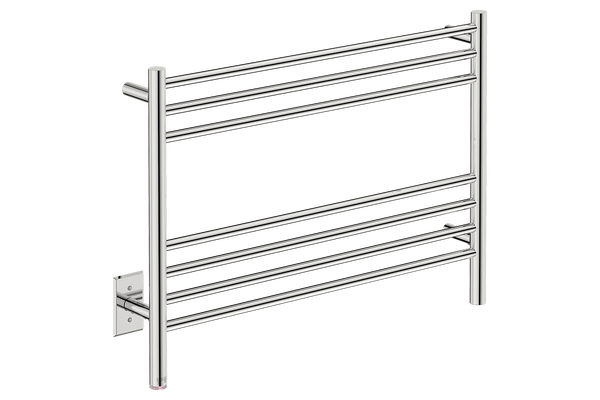 "Natural 7 Bar 32"" Heated Towel Warmer with PTSelect -120V - Bathroom Butler bathroom accessories and heated towel rails"