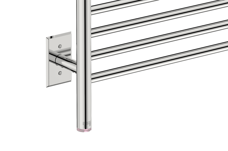 Electric heated towel rack with temperature adjustment PTSelect