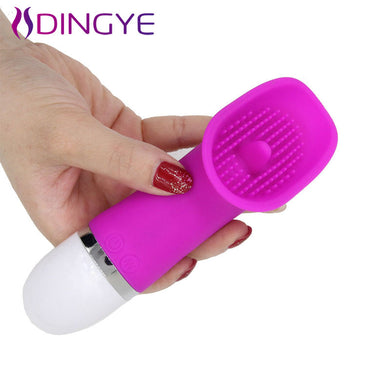 Dingye  Licking Toy 30 Speed Clitoris Vibrators for Women Clit Pussy Pump Silicone G-spot Vibrator Oral Sex Toys Sex Product - Midnight Fantasy AU