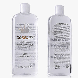 2*200ml=400ml lanthome COKELIFE sex gel personal lubricant water-base lube for oral sex, vagina Water-soluble lubrication - Midnight Fantasy AU