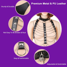 Load image into Gallery viewer, Sexy Bondage With Metal Chain Creative Collar Neck Cuff Body Flirting Underclothes BDSM Bondage Sex Toys For Woman Erotic Clothing Adult Products - Midnight Fantasy AU