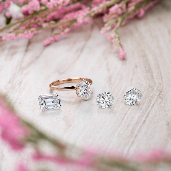 Why Moissanite Suddenly Became A Popular Choice For Engagement Rings