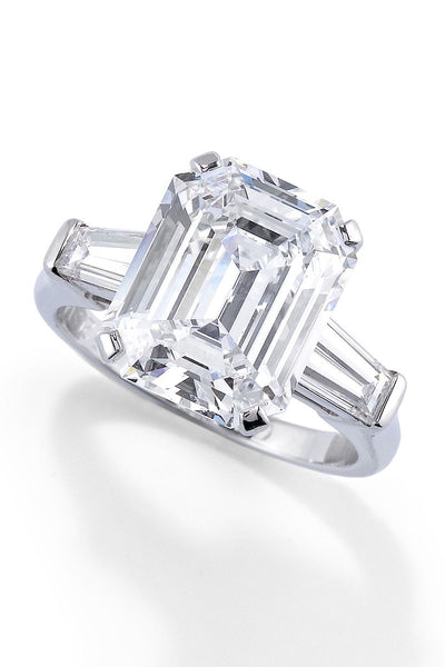 The Emerald Cut Engagement Ring will reign this 2020