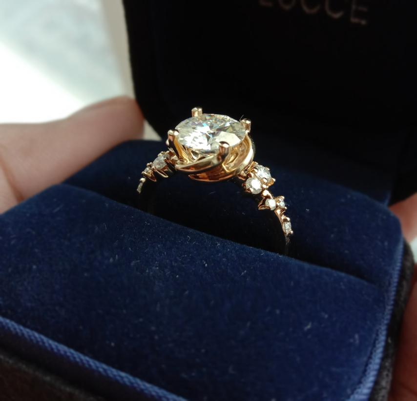 Engagement Ring Wedding Rings Bride and Breakfast Proposal Manila Philippines Diamond