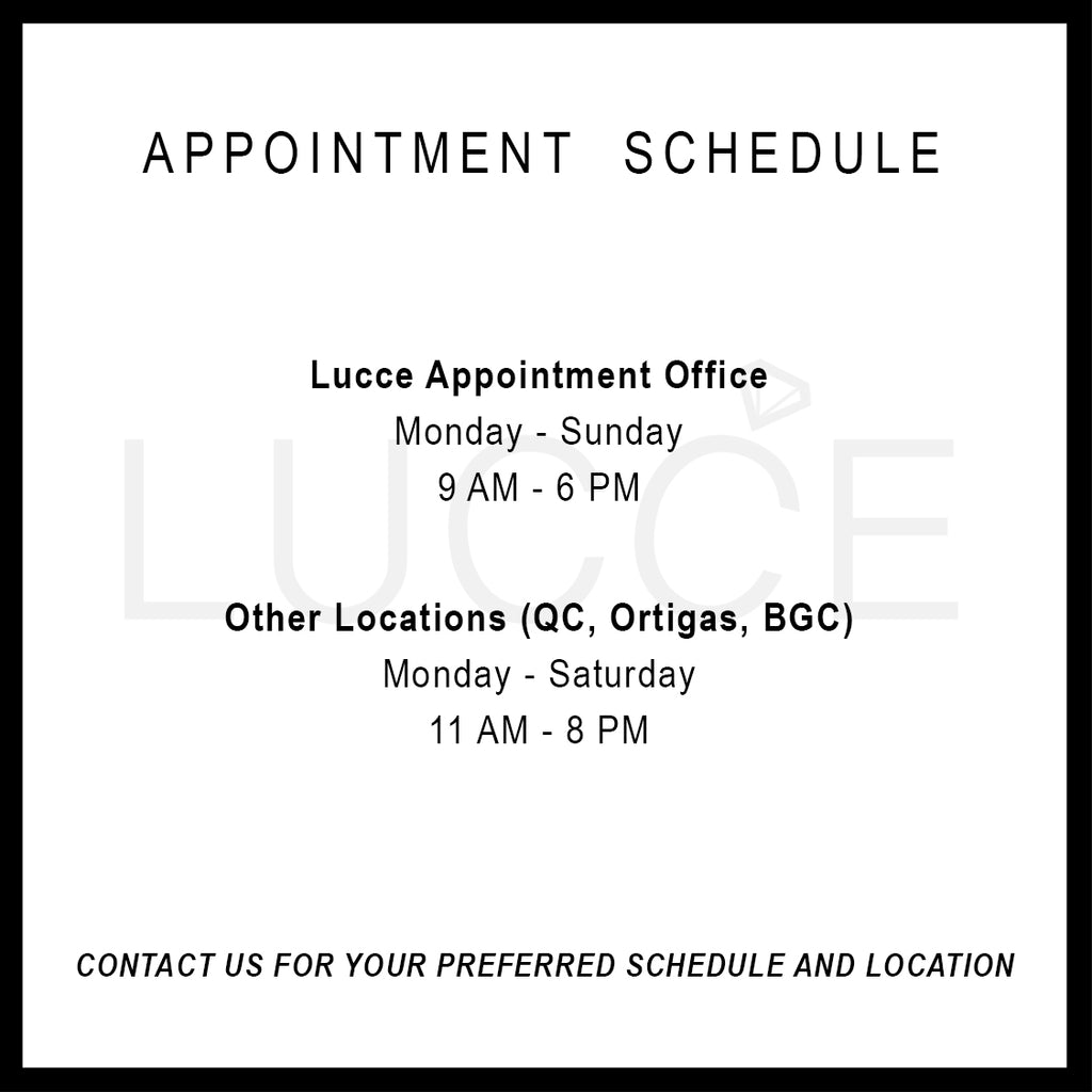 appointment schedule lucce rings office
