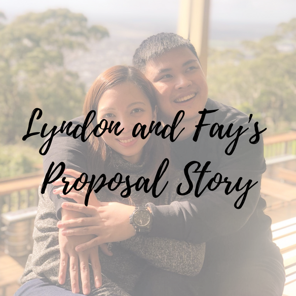 engagement ring proposal story  moissanite philippines