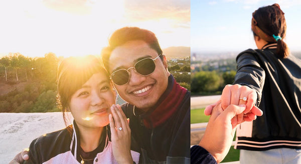 Lucce Marco Trish Proposal Story Engagement Ring Philippines