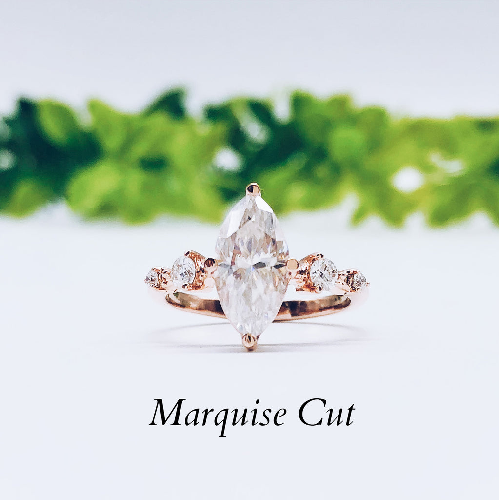 Where to buy Marquise Engagement ring wedding rings gold jewelry moissanite lab diamond manila philippines
