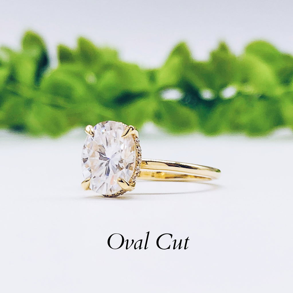 Where to buy Oval Engagement ring wedding rings gold jewelry moissanite lab diamond manila philippines