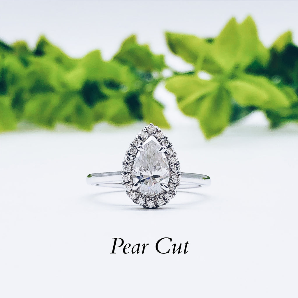 Where to buy Pear Engagement ring wedding rings gold jewelry moissanite lab diamond manila philippines