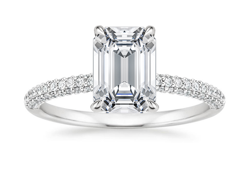 Emerald cut engagement ring Philippines