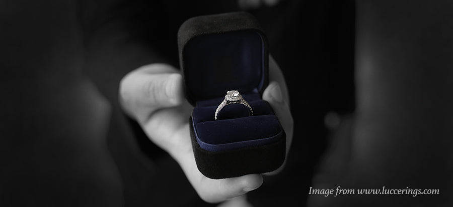 blog why do men propose with an engagement ring