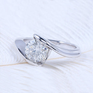 Lucce Rings Simple Radiant Moissanite Engagement Philippines