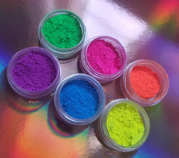 shade beauty, indie makeup, cruelty free, vegan, neon pigments, the pigment club, eye of the tiger, another one bites the dust, straight up, girls just wanna have fun, when doves cry, beat it