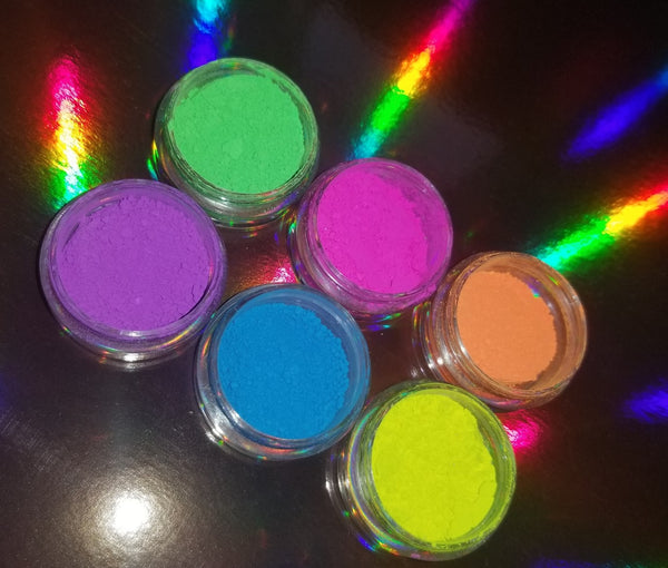 The Pigment Club - Neon Pigments - 6 Piece Collection - Shade Beauty