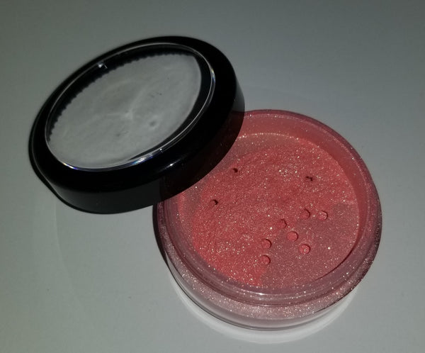 shade beauty, loose blush, indie makeup, cruelty free, vegan, indie beauty, oleander, wolf's bane, angel's trumpet, bleeding heart, laceleaf, flame lily, blush