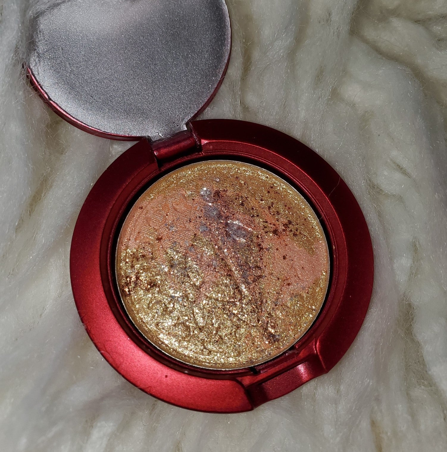 That Bitch Carole Baskin Limited Edition 36mm Pressed Highlighter