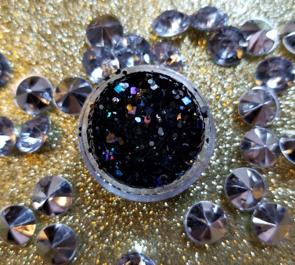 Black Magik Chunky Glitter - Shade Beauty
