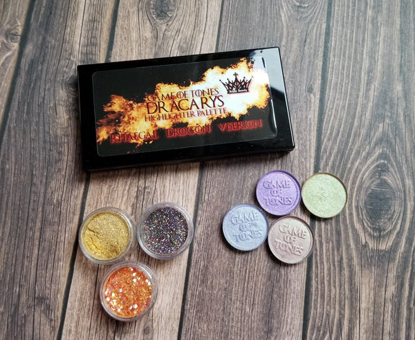 Game of Tones - Episode One - Dracarys Highlighter Palette - Shade Beauty