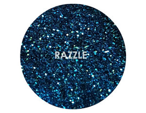 shade beauty, glitter, sparkle, shine, glimmer, best glitters, cruelty free, vegan, eye safe glitter, body glitter, festival makeup, loose glitter, razzle, blue glitter