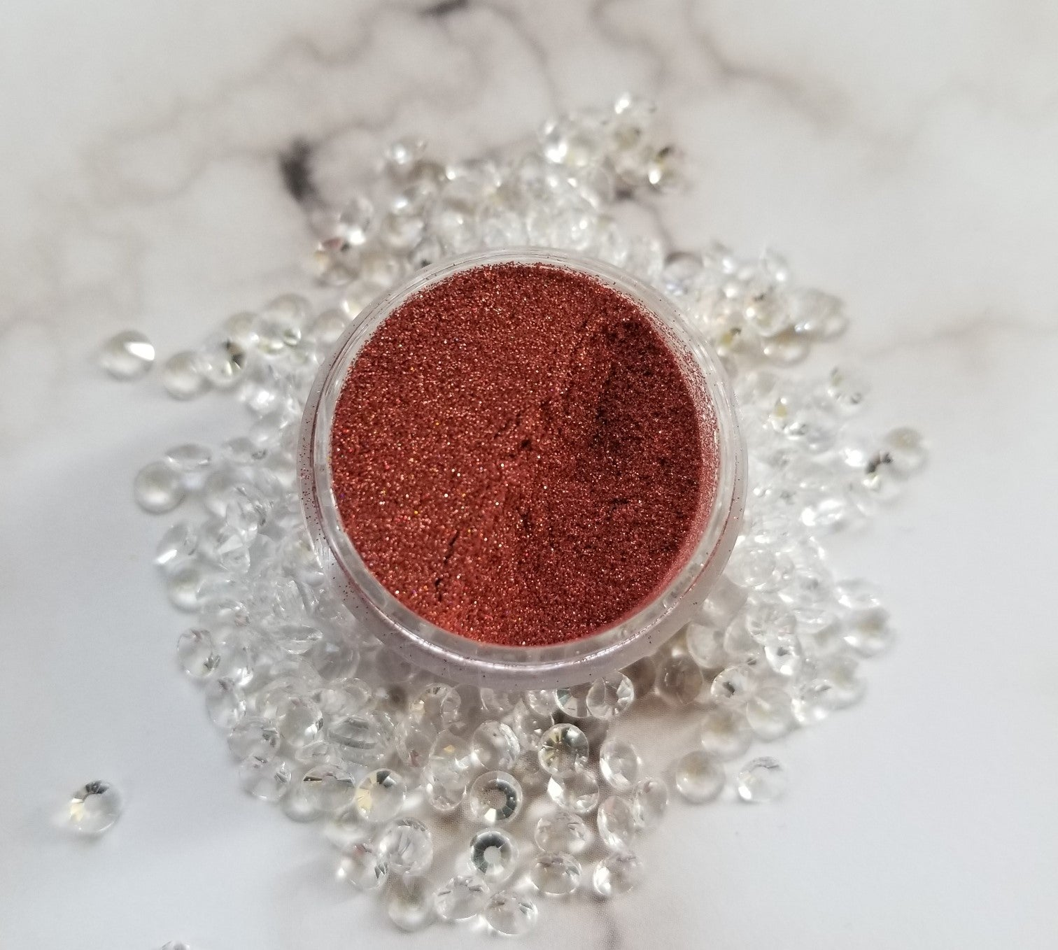shade beauty, indie makeup, indie brand, handmade, artisan, made in the usa, made in michigan, cruelty free, vegan, glitter, loose glitter, festival makeup, orange glitter, spontaneous combustion, spontaneous combustion loose glitter, bronze glitter, copper glitter, orange glitter, holographic glitter, holographic bronze glitter