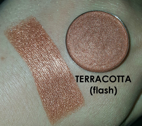 Terracotta Pressed Eyeshadow - Shade Beauty