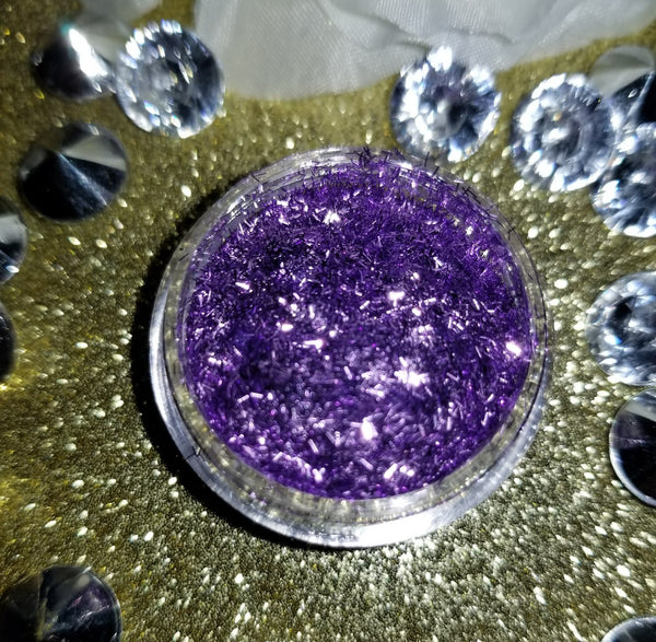 chunky glitter, voodoo, voodoo chunky glitter, purple chunky glitter, indie makeup, indie brands, cruelty free, vegan, shade beauty