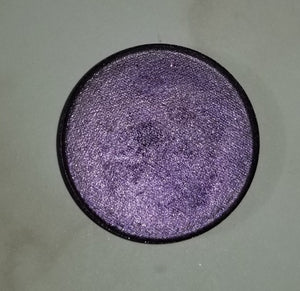shade beauty, eyeshadow, vegan makeup, cruelty free makeup, swatches, shimmery eyeshadow, sparkly eyeshadow, metallic eyeshadow, neutral eyeshadow, nude eyeshadow, indie makeup, artisan makeup, witching hour, witching hour pressed eyeshadow, grey eyeshadow, gray eyeshadow, purple eyeshadow, lavender eyeshadow, limited edition eyeshadow