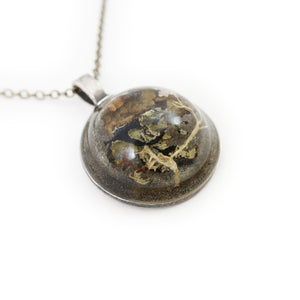 Large Dome Terrarium Necklace