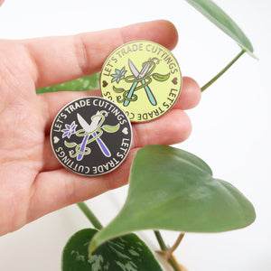 Let's Trade Cuttings Enamel Pin - Limited Edition Colors!