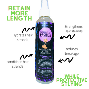 Protective Style Hydrator aka Length Retention Spray