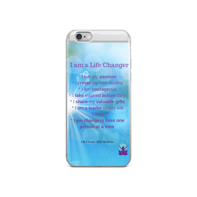 I am a Life Changer iPhone Case