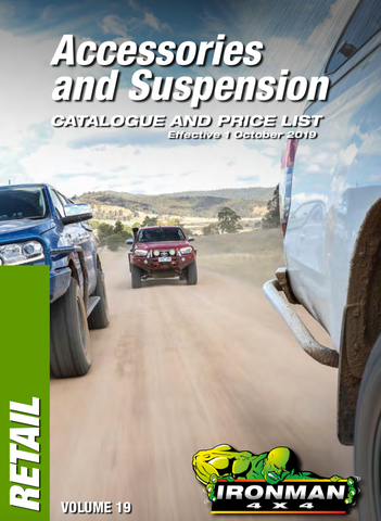 Ironman Accessories and Suspension Catalog