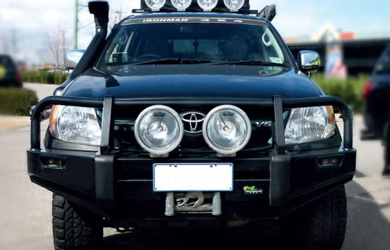 Commercial Bull Bar to suit Hilux 2005-2011