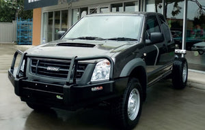 D-Max 2007-2011 Commercial Bull Bar