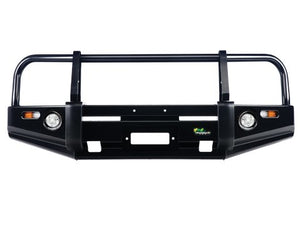 Deluxe Commercial Bull Bar to suit Landcrusier 75 Series 1984-1999