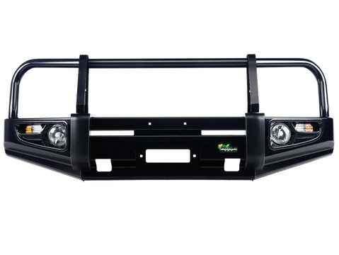 Pathfinder R51 (Smooth OE Bumper) Deluxe Commercial Bull Bar