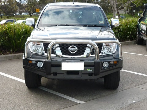 Pathfinder R51 (Smooth OE Bumper) Protector Bull Bar