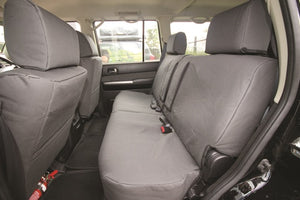 Navara NP300 Canvas Seat Covers - Rear