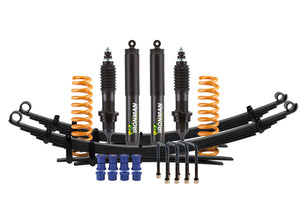 Isuzu D-Max 2012+ Suspension Kit - Comfort Load with Foam Cell Pro Shocks