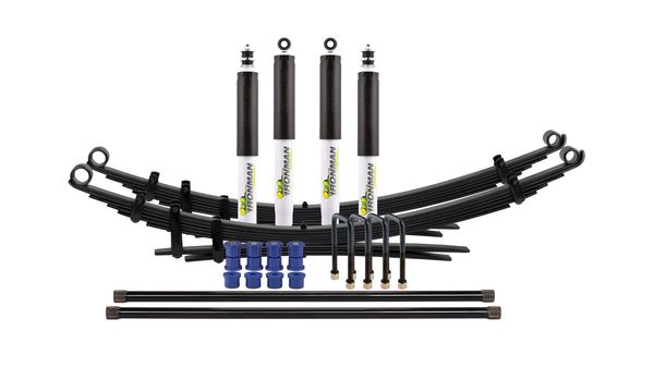 Holden Jackaroo 2003-2012 Suspension Kit - Extra Constant Load with Foam Cell Shocks