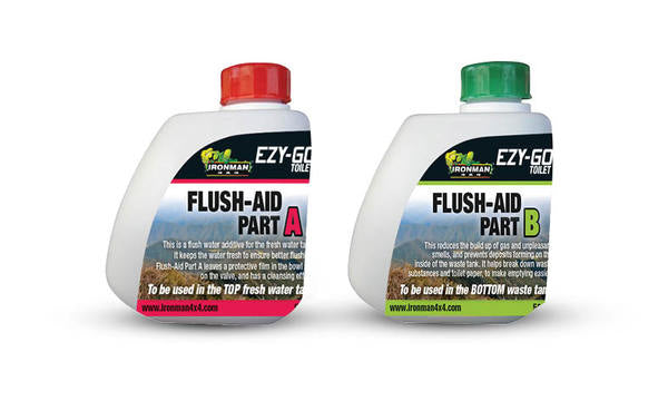 Ezy Go Toilat Flush-Aid Part A + Part B