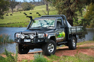 Deluxe Commercial Bull Bar to suit Landcrusier 79 Series 1999-2007